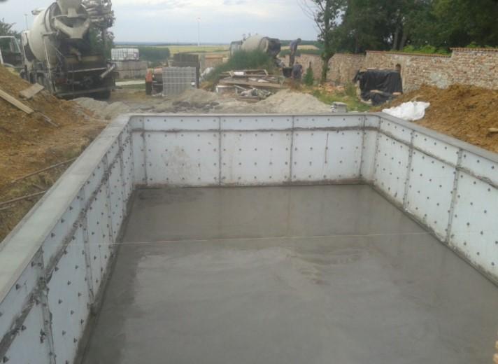 Havuz yapısının betonlanması 6.gün