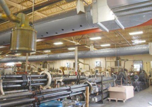 Endüstriyel havalandırma sistemleri montajı